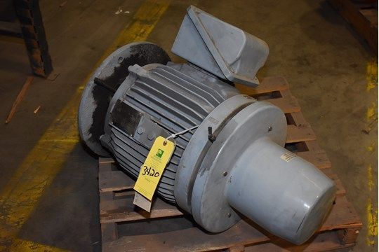 General Electric 30 PS Motor, Rahmen L286TP16, (1) 30 PS Motor, 230/460 Volt