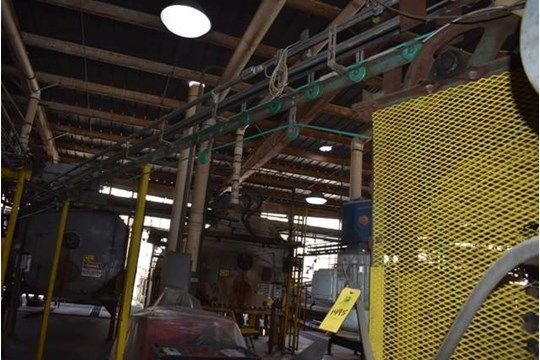 Tri-Can Motorisierter Dosenförderer, 25 ft. Kann Förderlinie, Linie CL, RIGGING FEE $ 300