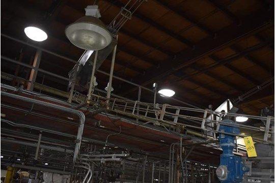 Edelstahl-Dosengebläse, 12 ft. Kann Förderband, RIGGING FEE $ 300