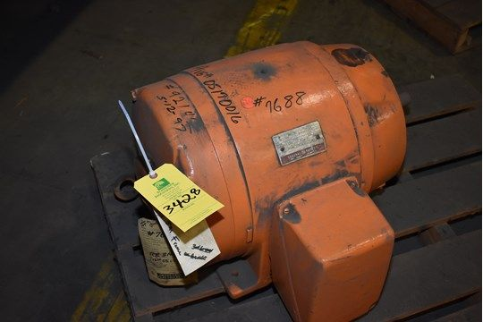 General Electric 40 PS Motor / 1765 U / min / 230/460 Volt
