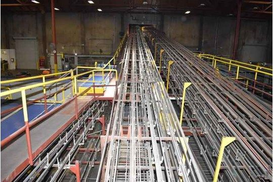 Tri-Can Fördersystem, Ca. 6 Meilen Länge, kann Conveyor Serving Plant
