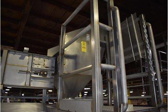 Entwasserungskopf aus Edelstahl, RIGGING FEE: 300 $