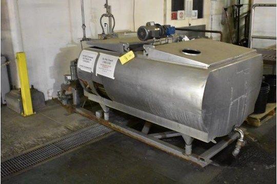 Mueller Modell MS Edelstahlkühler, 300 Gal. Kapazität, SN 1111526