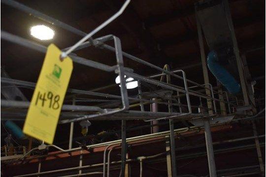 Edelstahl-Dosengebläse, 20 ft. Kann Förderband, RIGGING FEE $ 300