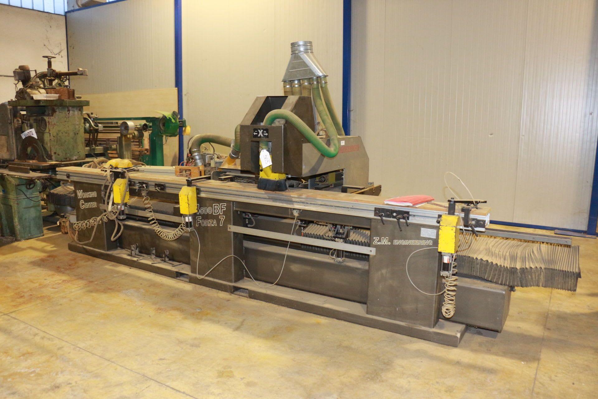ZM ENGINEERING 4500 BF F7 Bearbeitungszentrum