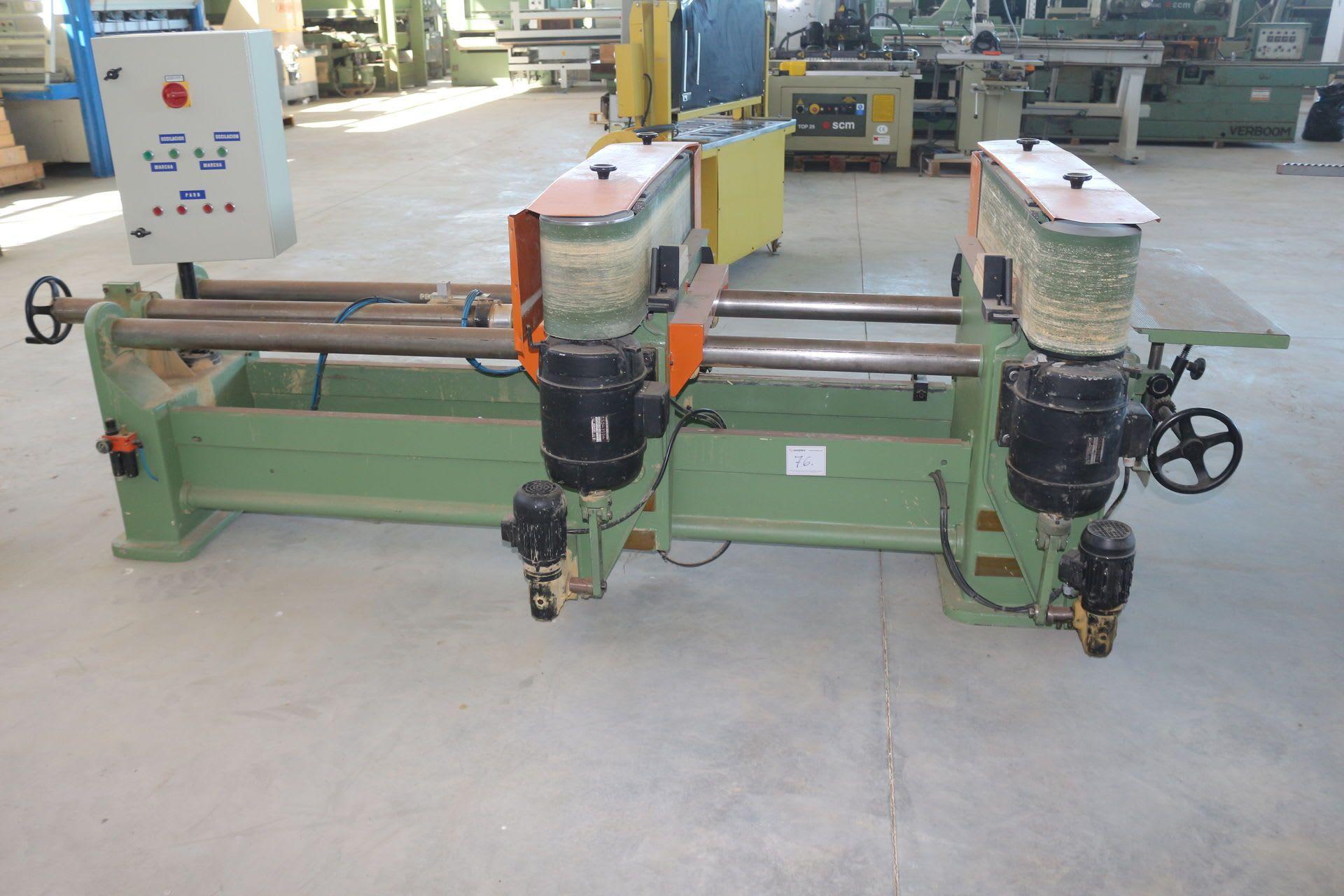 CAGLIO Schubladenschleifmaschine