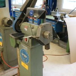 ALBIS 225 K Double Bench Grinder / Belt Sander