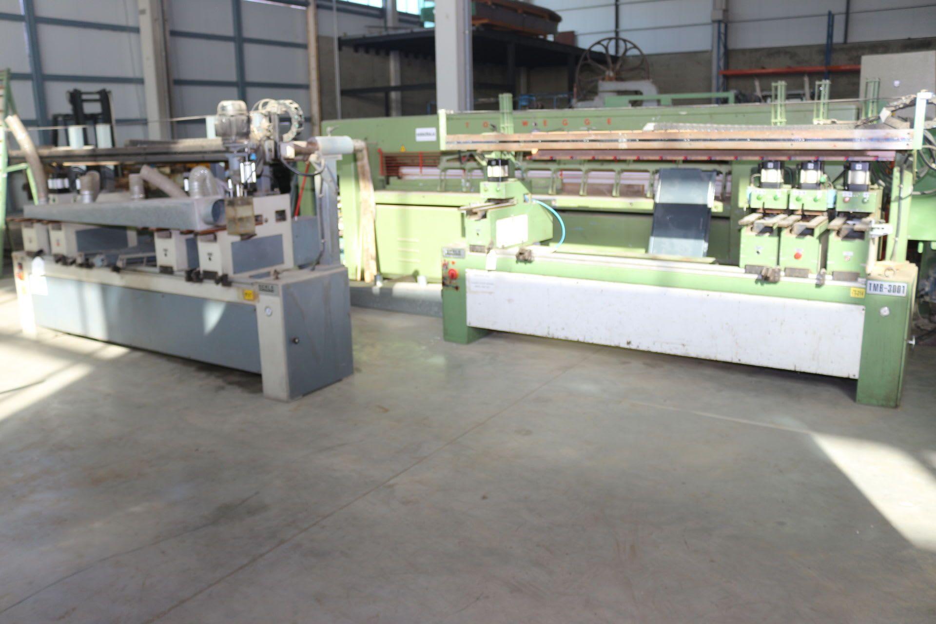 BERLE TB 3001 2 Scharnierbohr- und -einsetzmaschinen