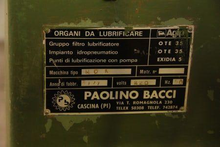 PAOLINO BACCI MOA Langloch-Bohr- und Fräsmaschine