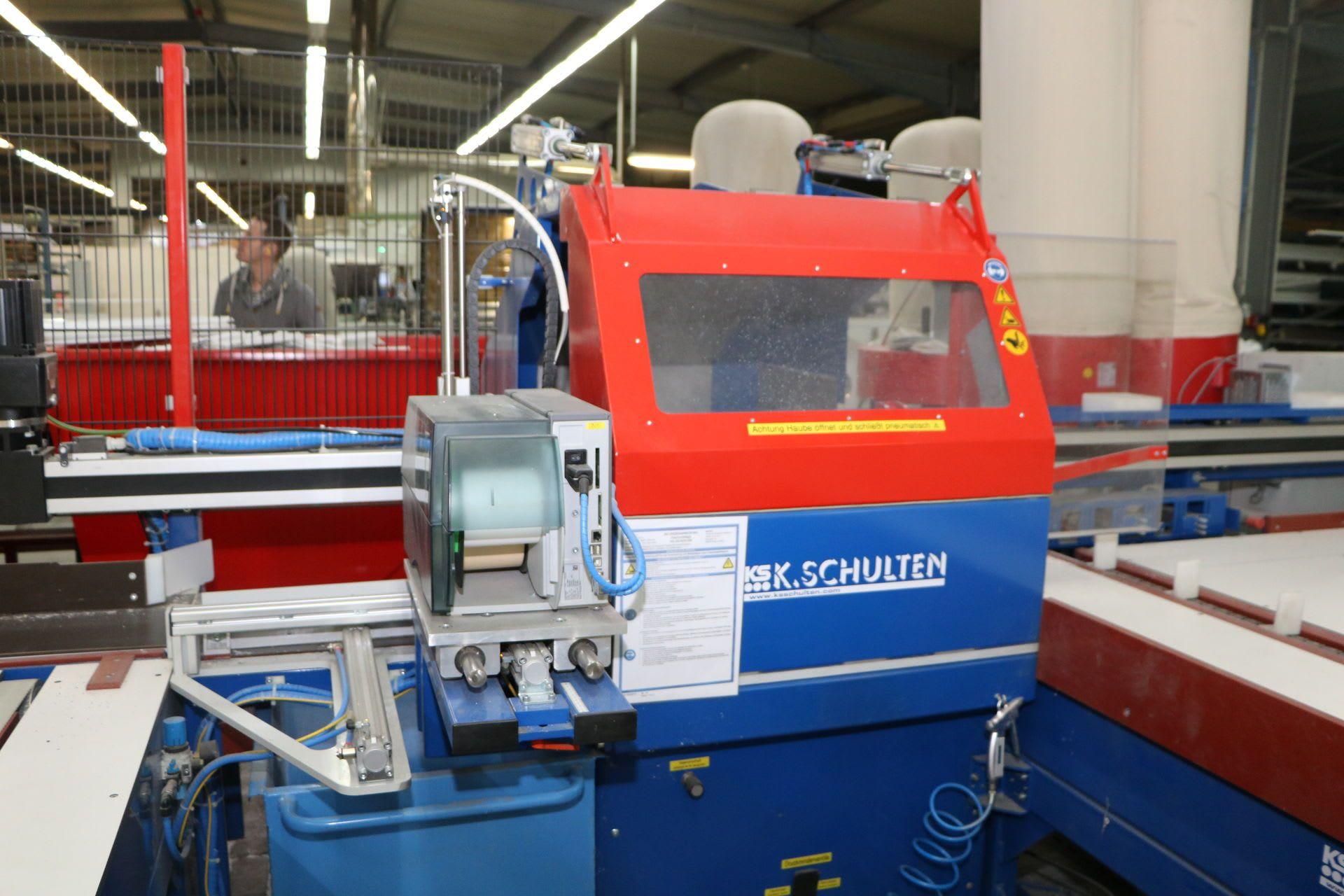 K.SCHULTEN RKS 350 Zuschnittzentrum für Aluminium- und Kunststoffprofile (Fenster- & Rollladenba