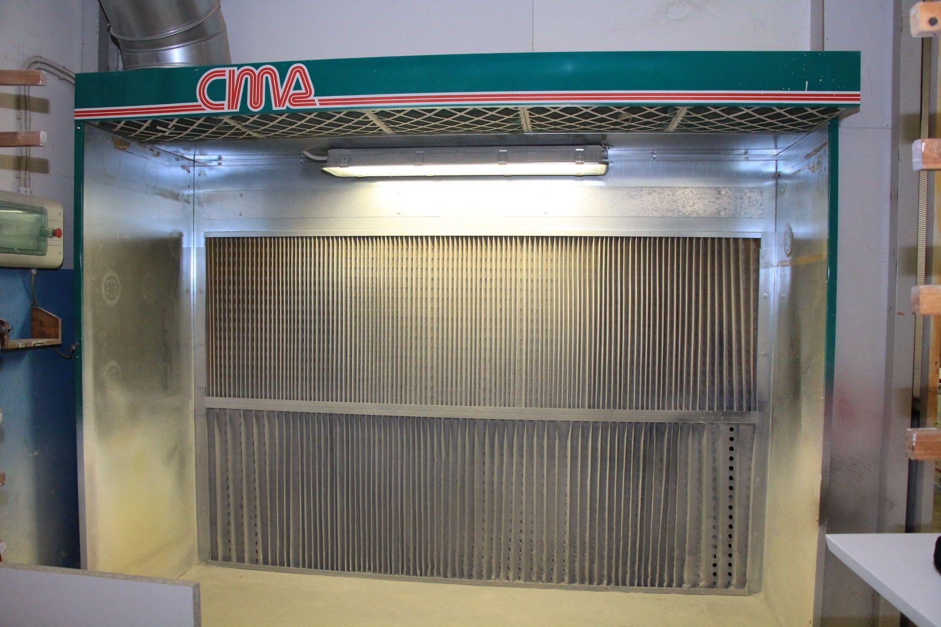 CIMA CSEA 300 / 200 Lackierkabine