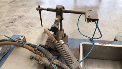 PIZZI 9037 Leimauftragmaschine