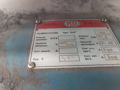 MB SAF 300 Schweißmaschine