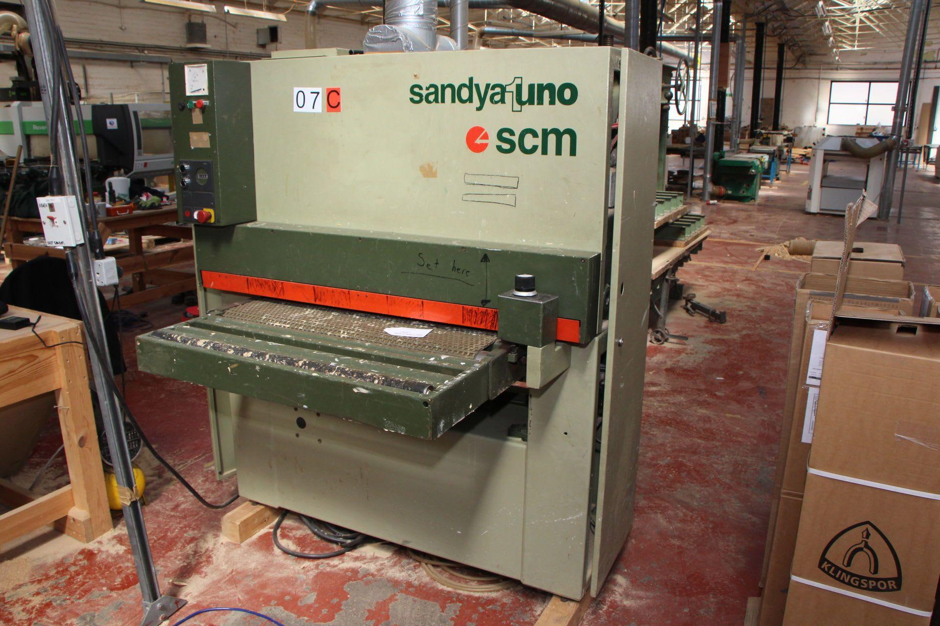 SANDYA UNO R Breitband-Schleifmaschine