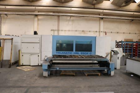 TRUMPF TRUMATIC HSL 2502 C Laserschneidanlage