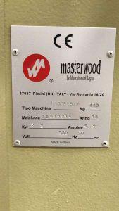 MASTERWOOD OMB 1 V - CE Vertikal-Langlochbohrmaschine