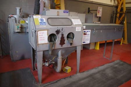 UNIVERSAL 483 PDH-DC 100 Sandstrahlkabine
