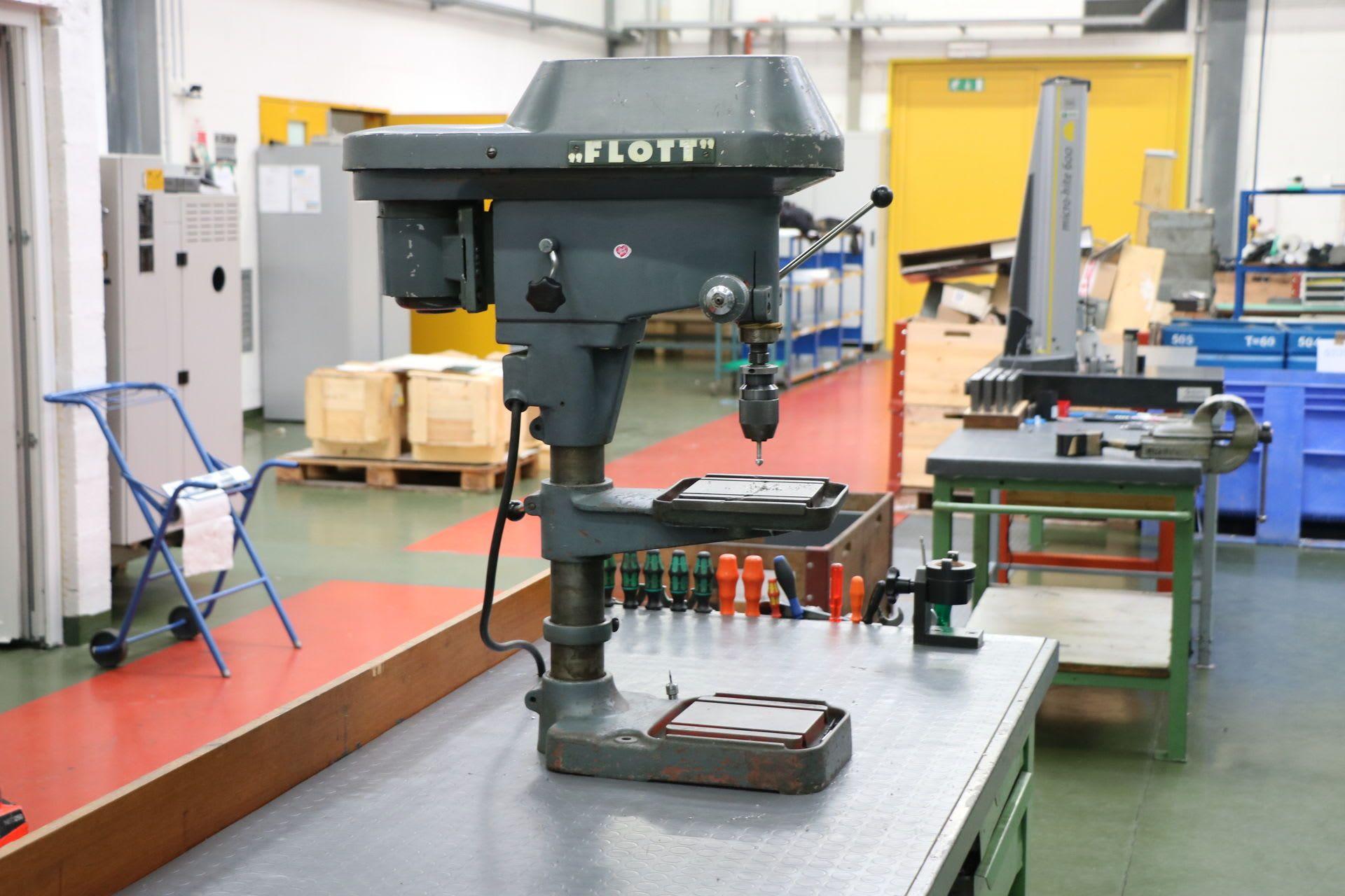 FLOTT B 10/II Tischbohrmaschine