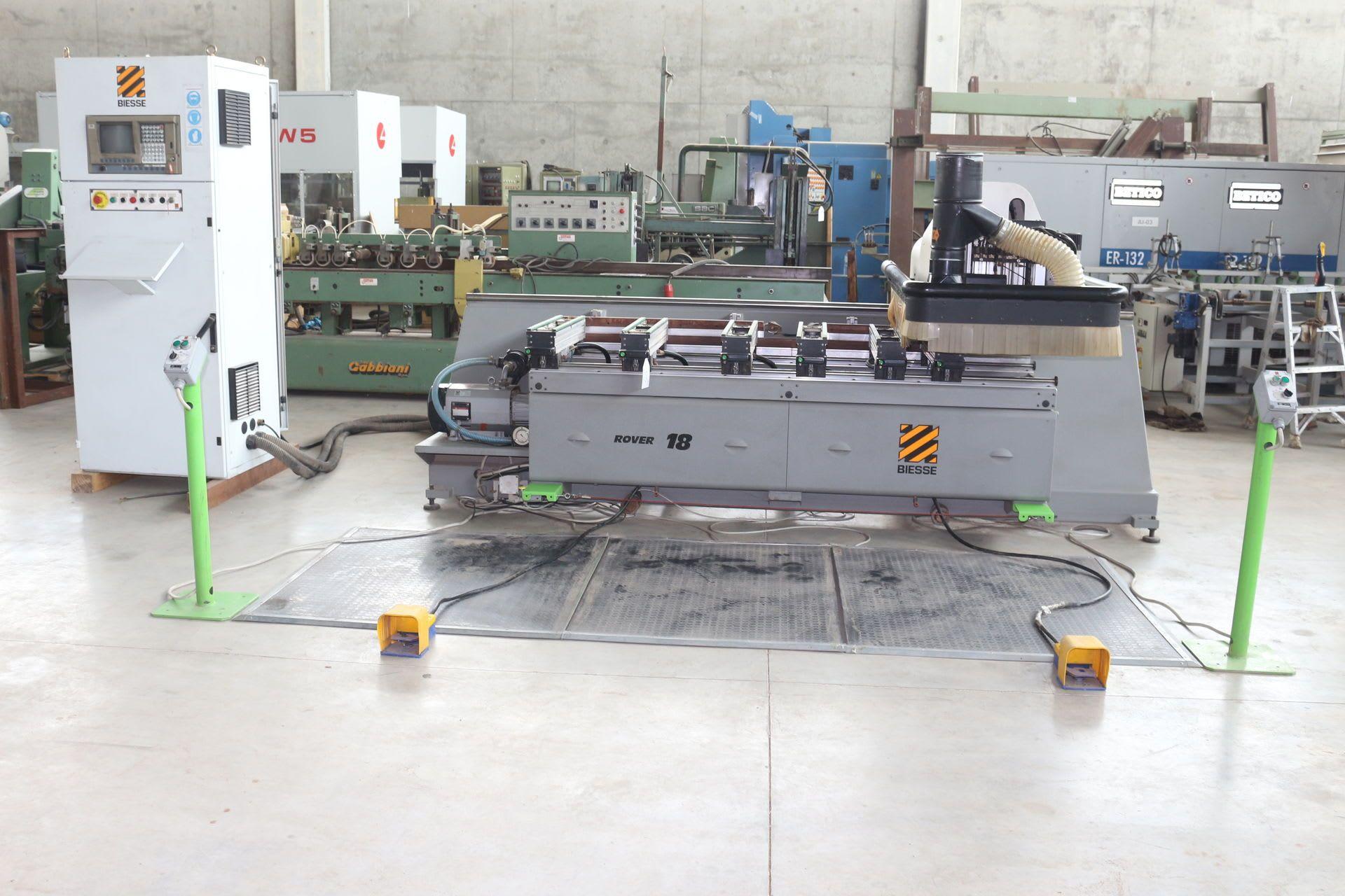 BIESSE ROVER 18 CNC-Bearbeitungszentrum