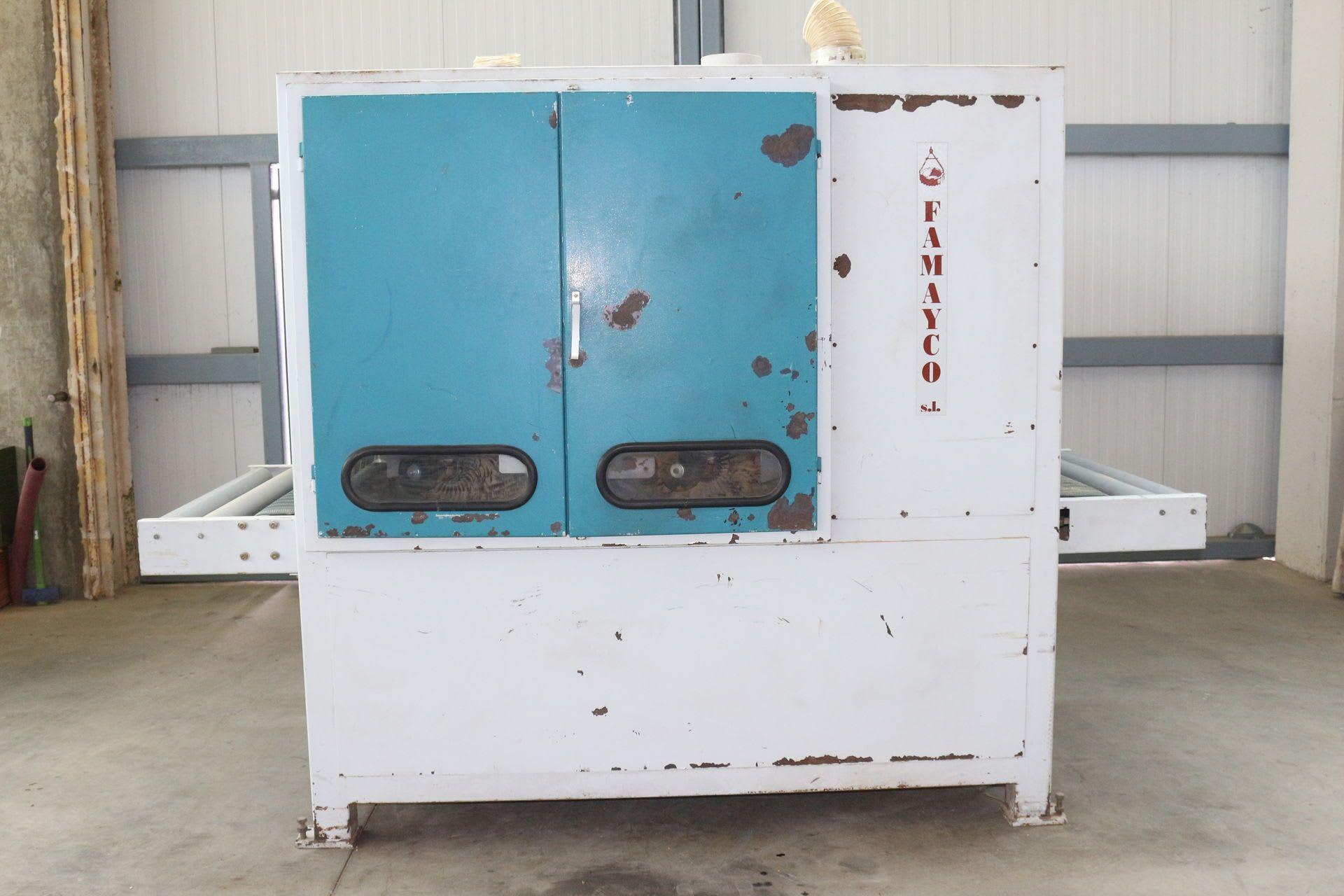 FAMAYCO 2 GS 1000 Bürstenschleifmaschine