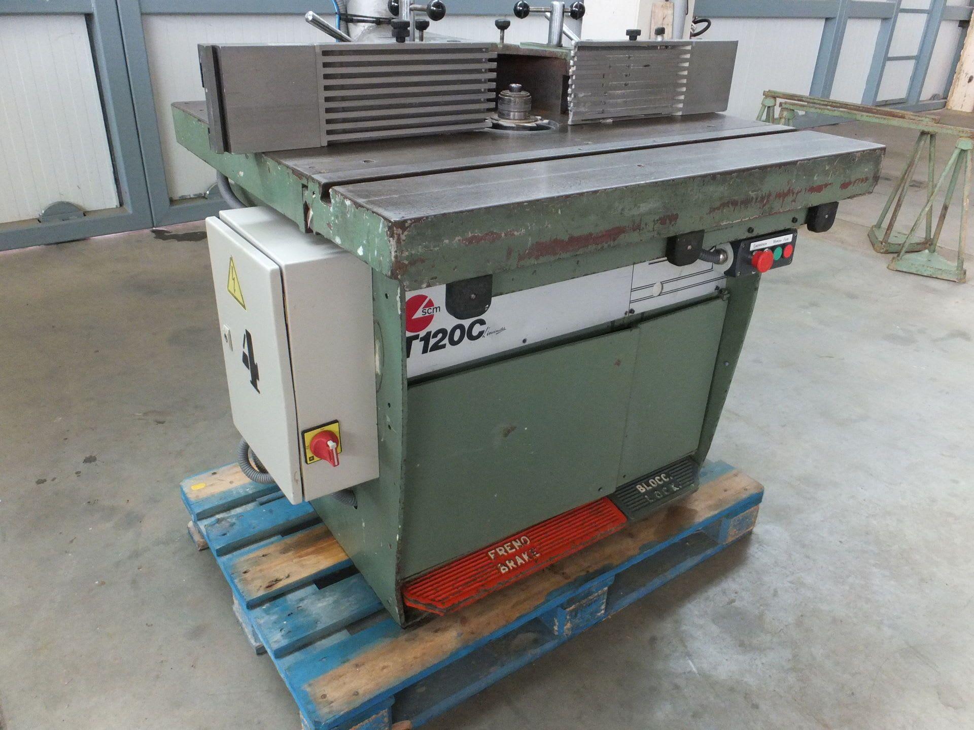 SCM T 120 C Tischfräse
