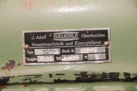 BÄUERLE SFM/2 Schwenkspindelfräse