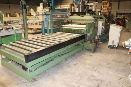 HERRSA 1250 R Linie mit Mehrfach-Plattensäge für das Schneiden von Platten