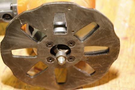 ASSFALG ASO 310 Pneumatisches Handkantenfräsgerät
