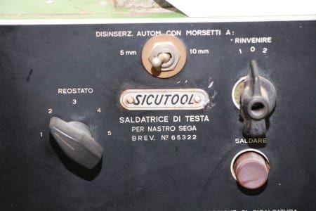 SICUTOOL Schweißmaschine für Bandsägeblätter