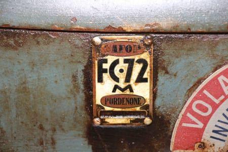 SAFOP FC 72 M Drehmaschine für Metall
