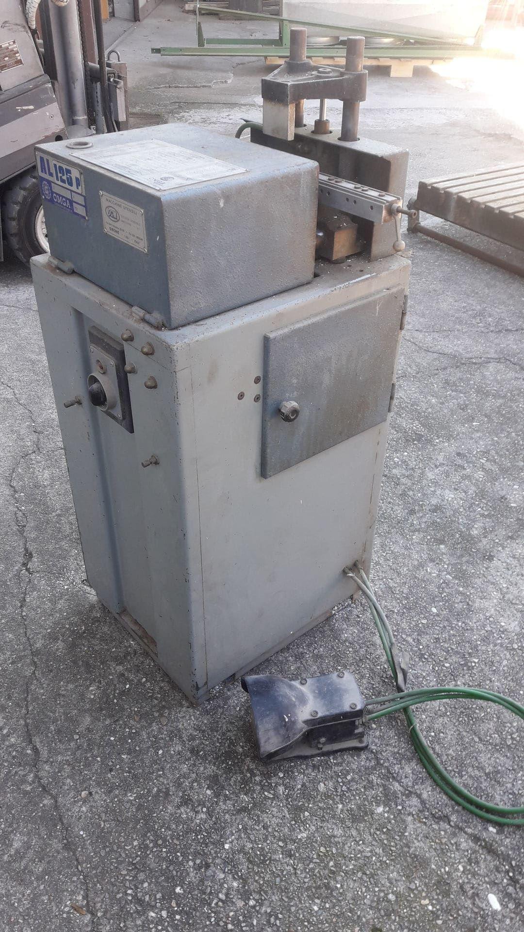 OMGA AL 125 P Fräsmaschine für Aluminiumprofile