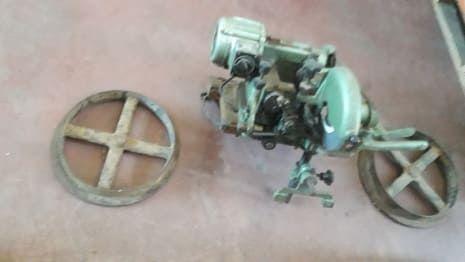 WIEKO Schleifmaschine für Bandsäge