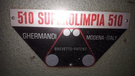 GHERMANDI SUPER OLIMPIA 510 Kalibriermaschine