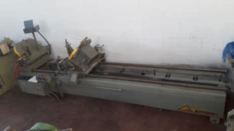 EMMEGI Doppelabkürzsäge für Aluminium