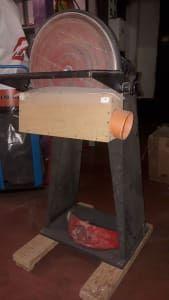 FEMI Schleifgerät mit Schleifscheibe