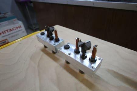 TRIMATIC 52 / 5,5 Set an 2 Bohrköpfen