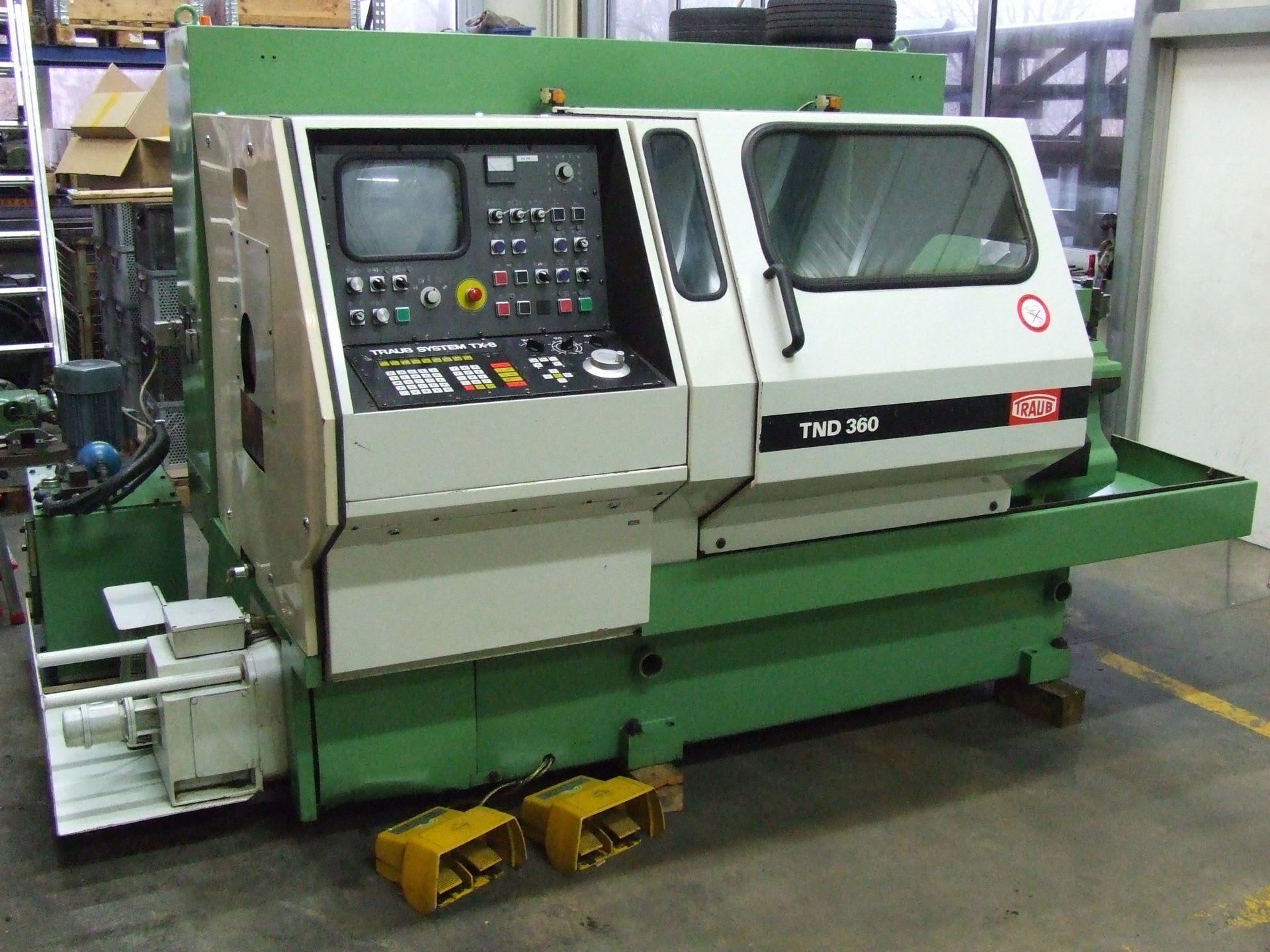 TRAUB TND 360 CNC-Drehmaschine