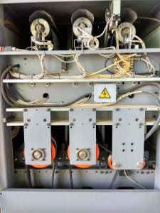 COSTA LEVIGATRICI CCT 1150 Breitbandschleifmaschine mit Absaugventilator