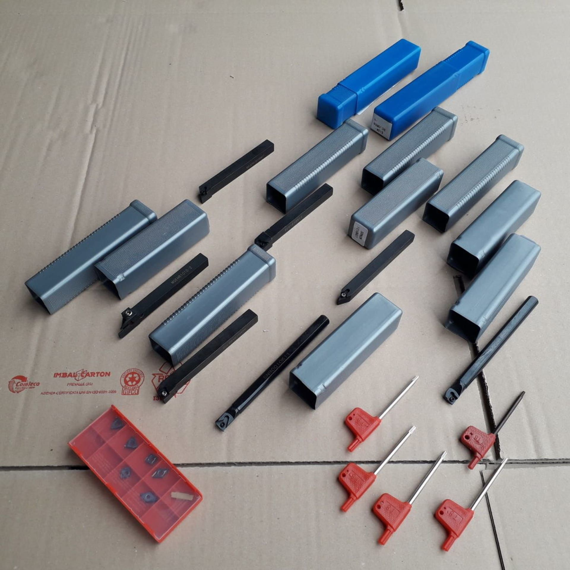 Posten Werkzeuge für Drehmaschine