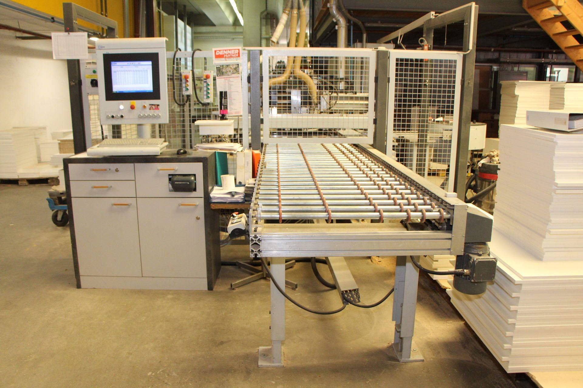 MAW - WEEKE ABH 120 CNC-Bearbeitungszentrum für Korpuswerkstücke
