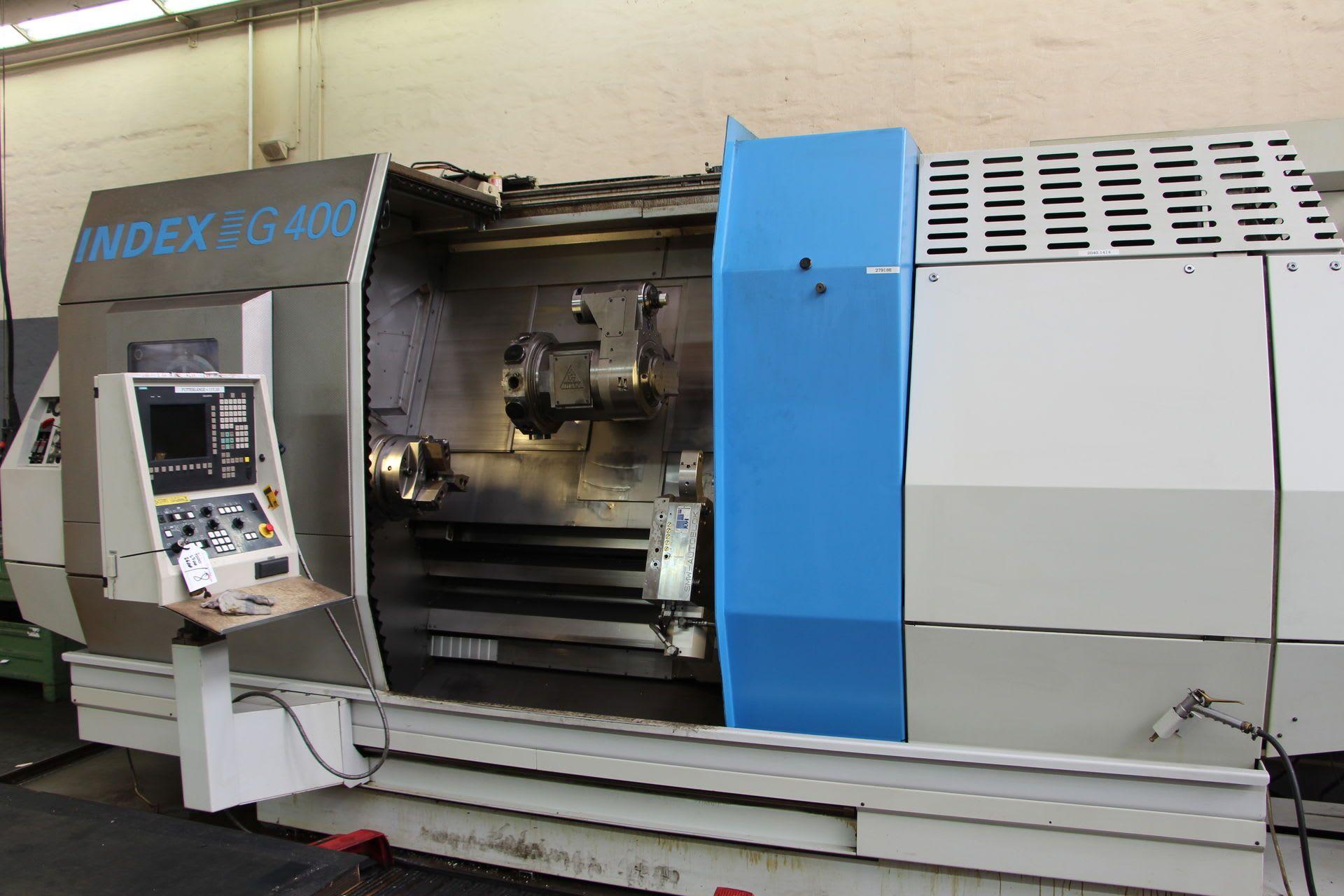 Drehmaschine CNC INDEX G 400