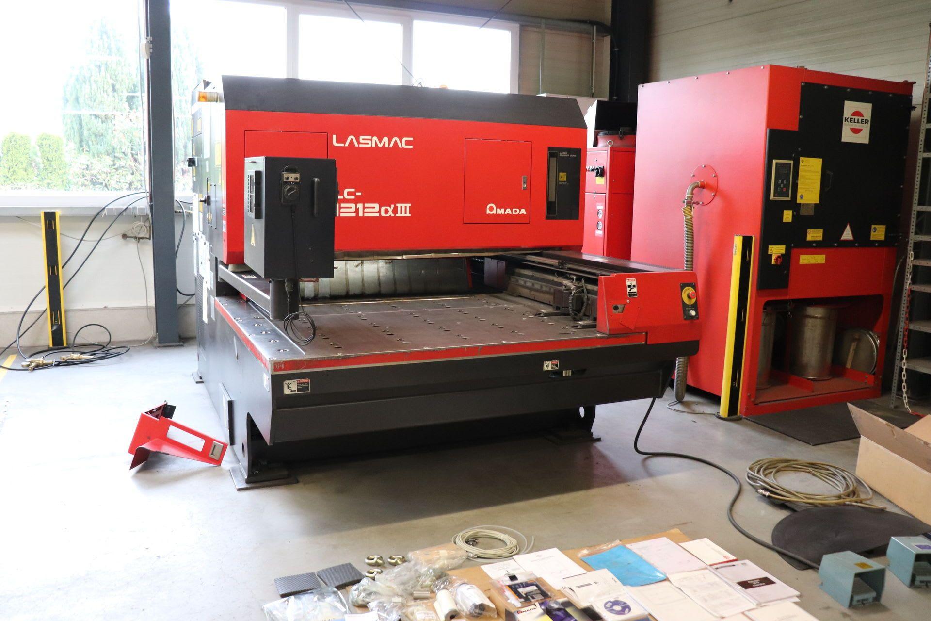 AMADA LC-1212A3 Laserschneidanlage