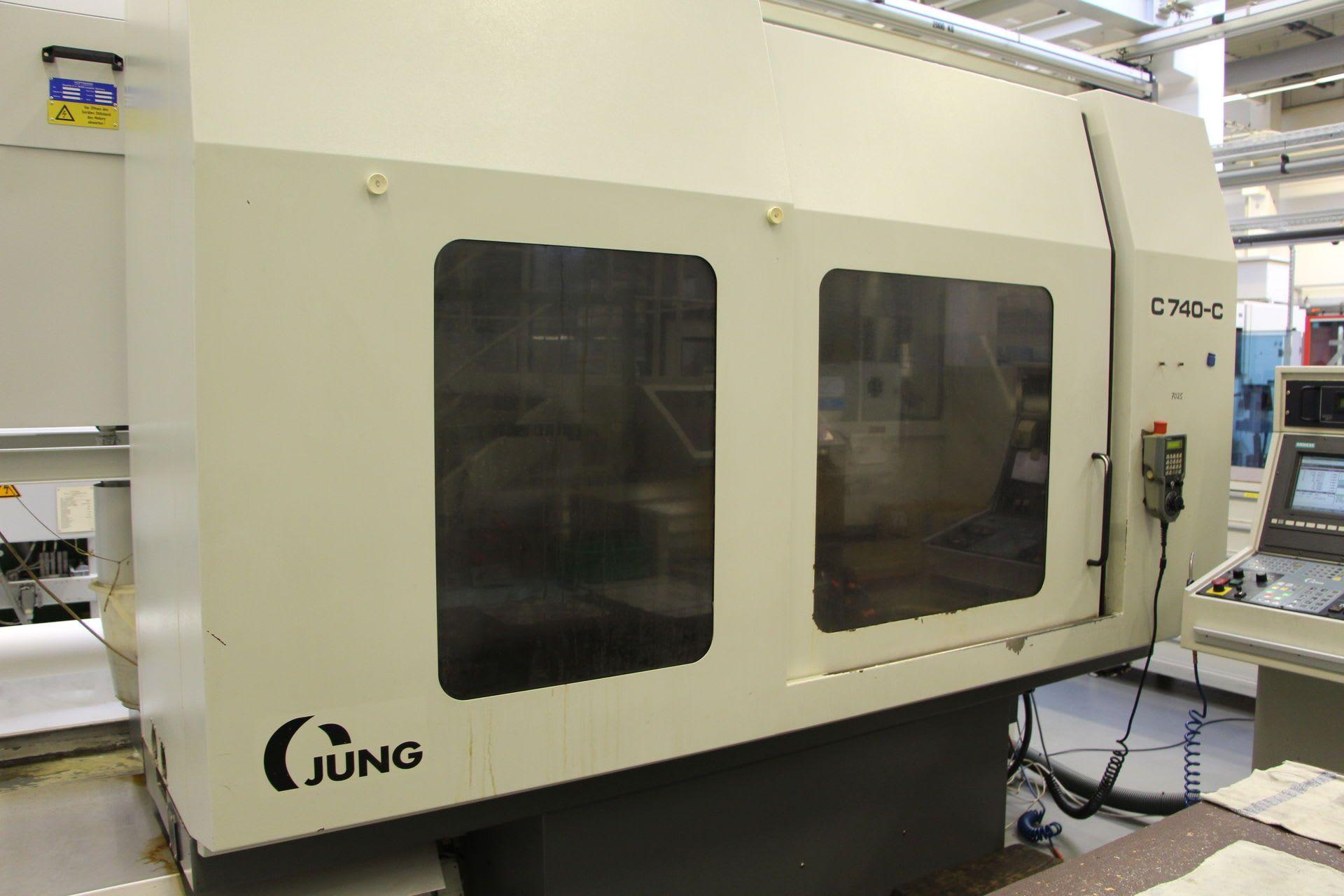 JUNG C 740-C Flach- und Profilschleifmaschine