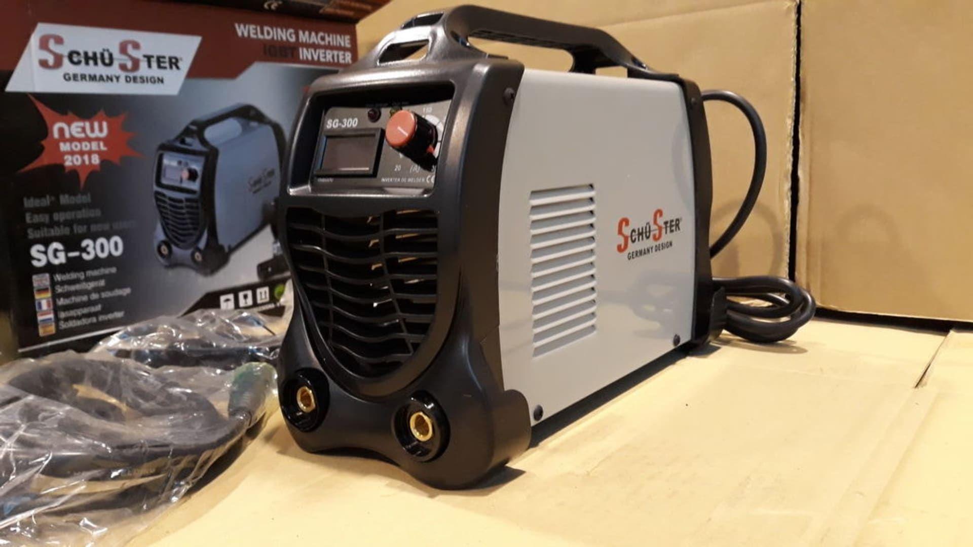 SCHUSTER SG-300 Elektrodenschweißmaschine