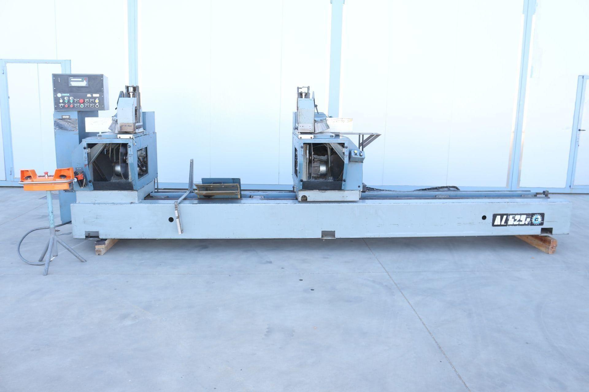 OMGA AL 529 P Doppel-Trennsäge für Aluminium