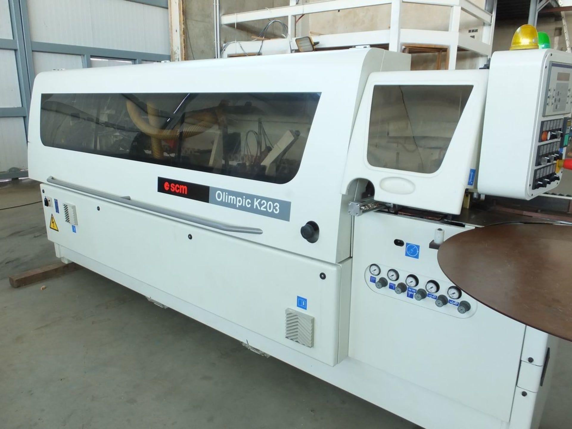 SCM K 203 R Kantenanleimmaschine