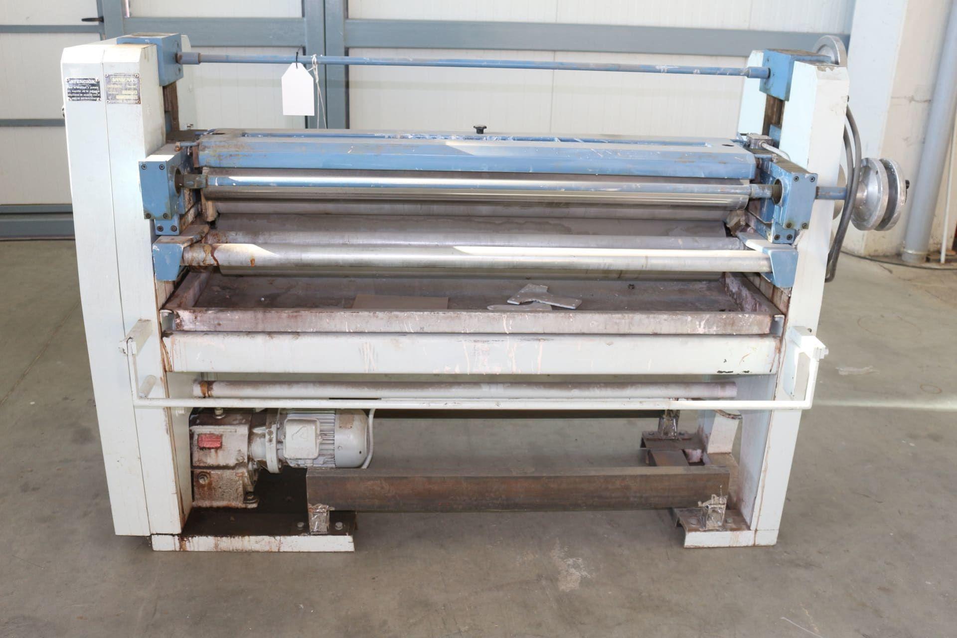 BARBERAN BA 1300 Walzen-Leimauftragsmaschine