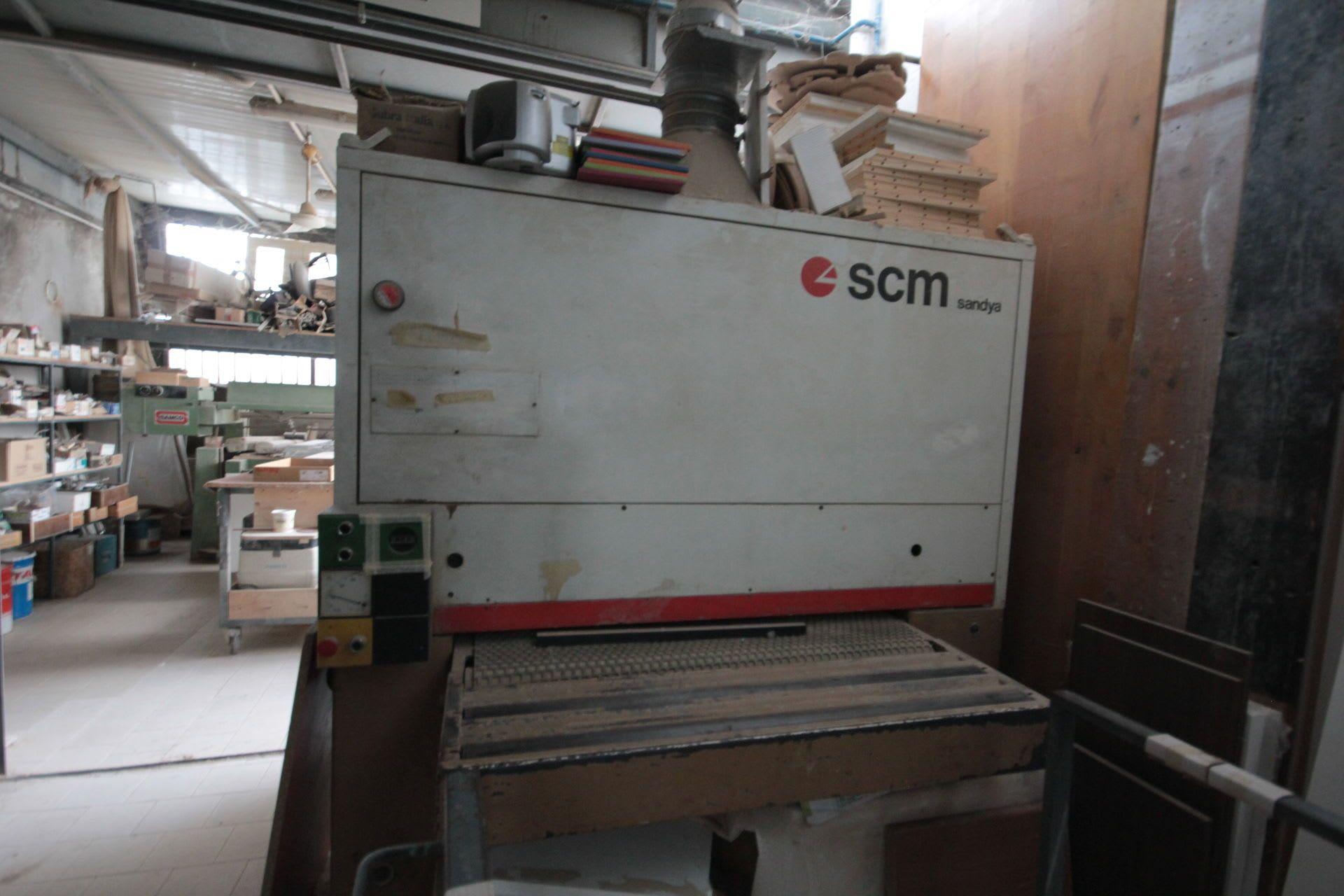 SCM SANDYA Schleifmaschine