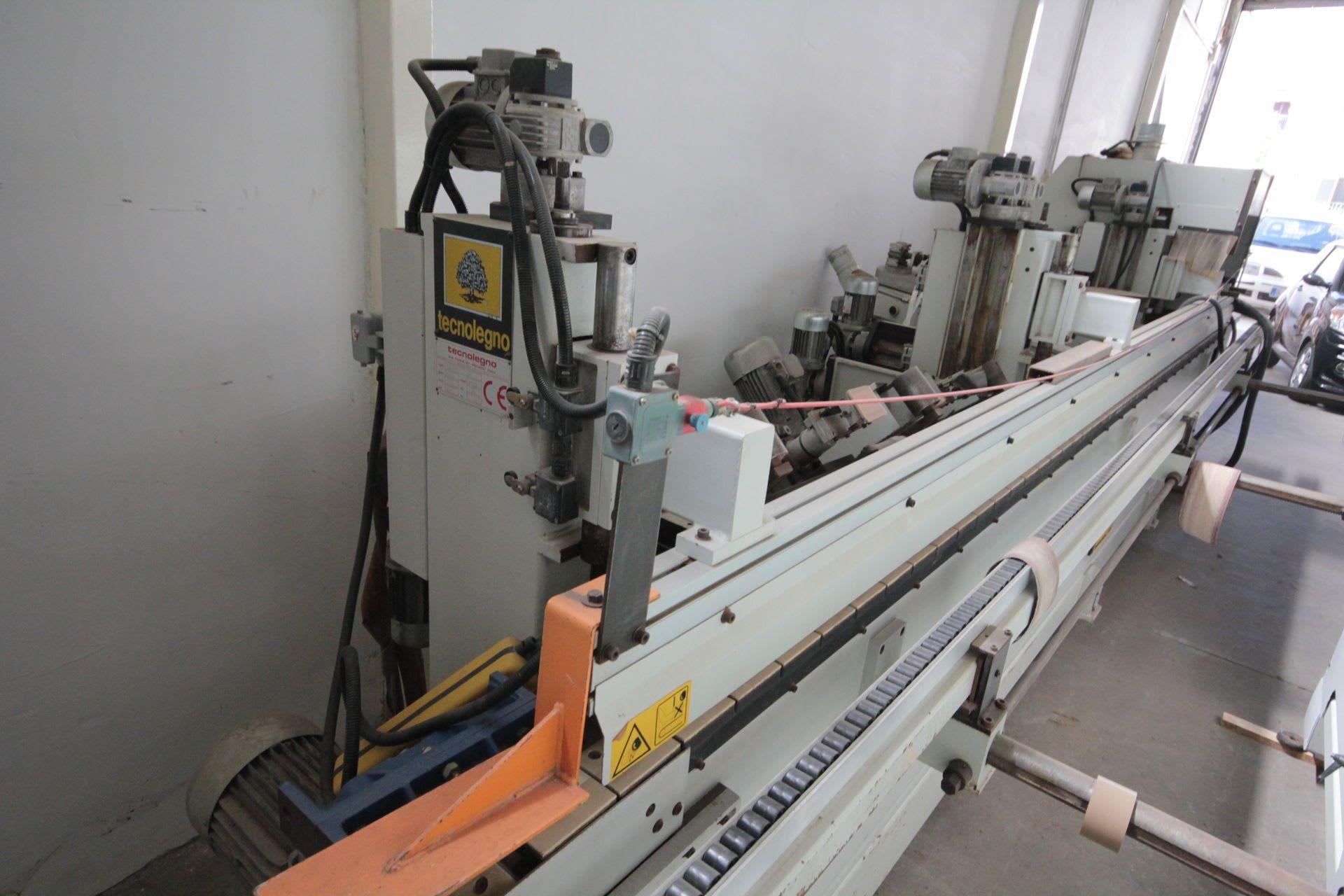 TECNOLEGNO COMPACT 52 Profilschleifmaschine