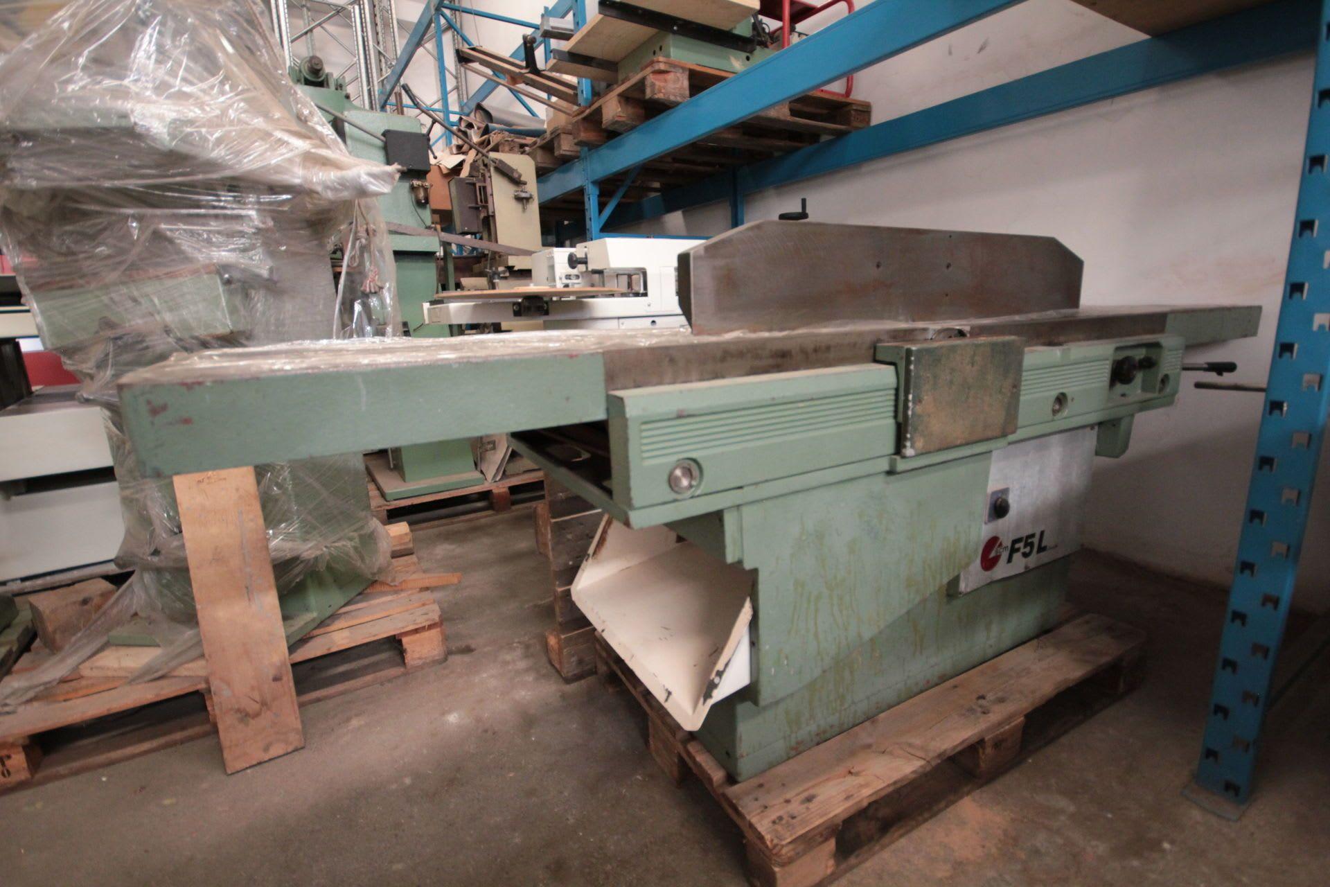 SCM F 5L Abrichthobelmaschine